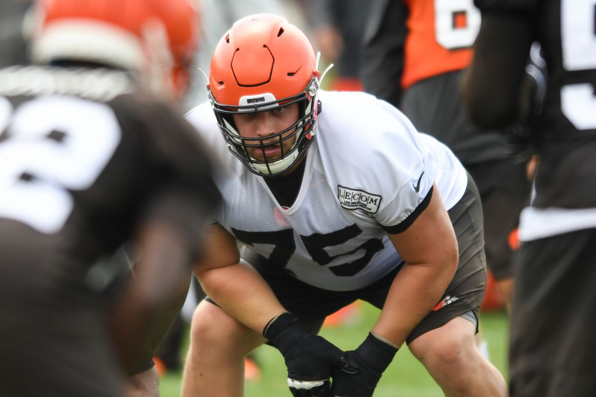 Browns' Week 1 depth chart, featuring the 53-man roster
