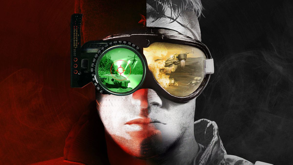 The cover of Command and Conquer Remastered
