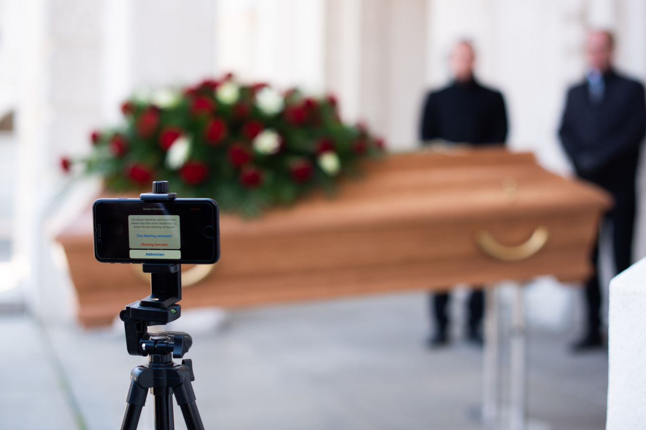 Undertakers Offer Livestreaming For Funerals Following Coronavirus Restrictions