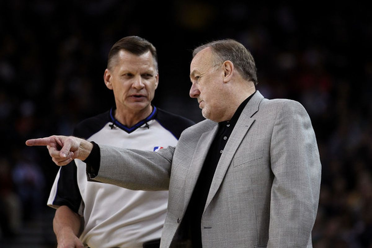 Rick: Remember, over there, that's where Hakeem almost punched you