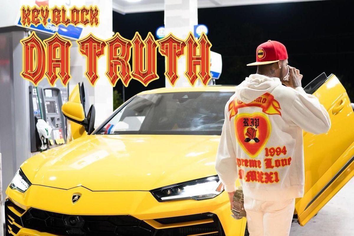 "Key Glock's ""Da Truth"" artwork"