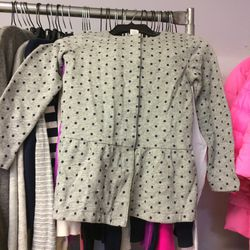 Girl's sweater, size 14, $30