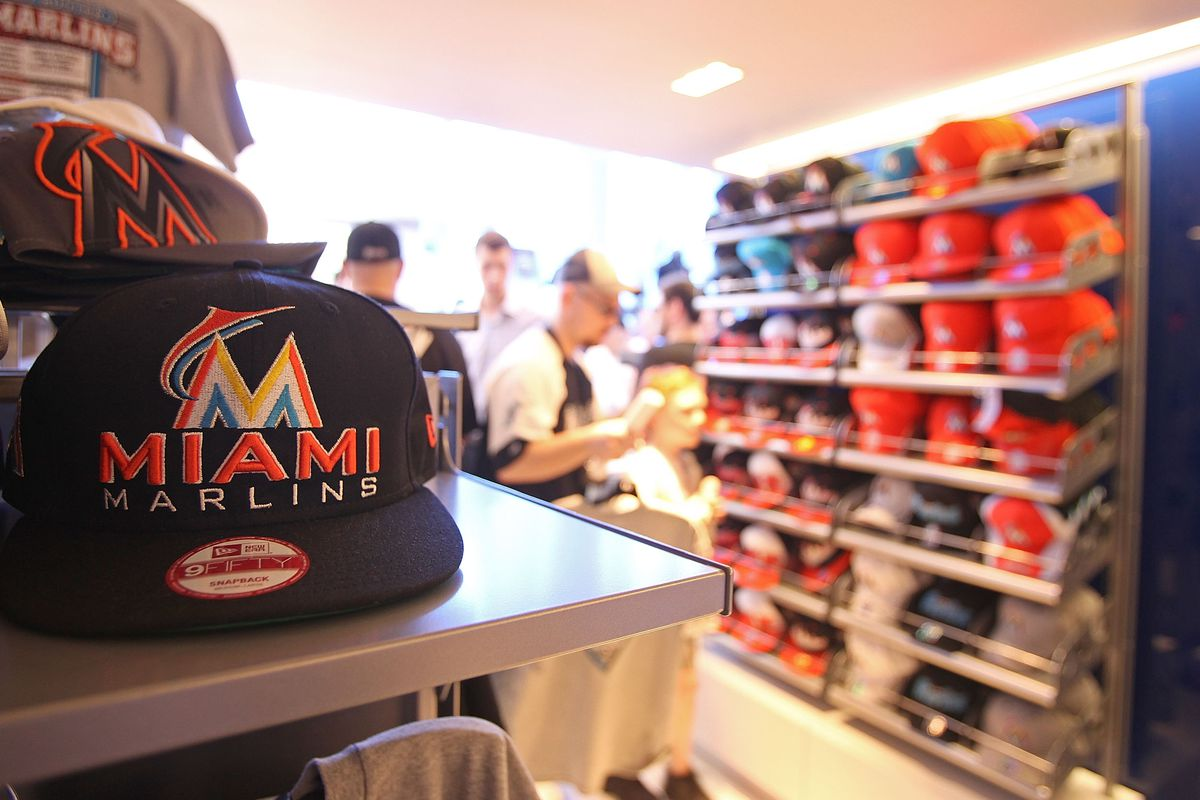 the latest c7c92 c0b67 Marlins Store Hits a Home Run at Miami International Airport ...