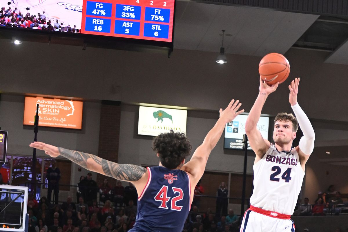COLLEGE BASKETBALL: FEB 29 St Mary's at Gonzaga