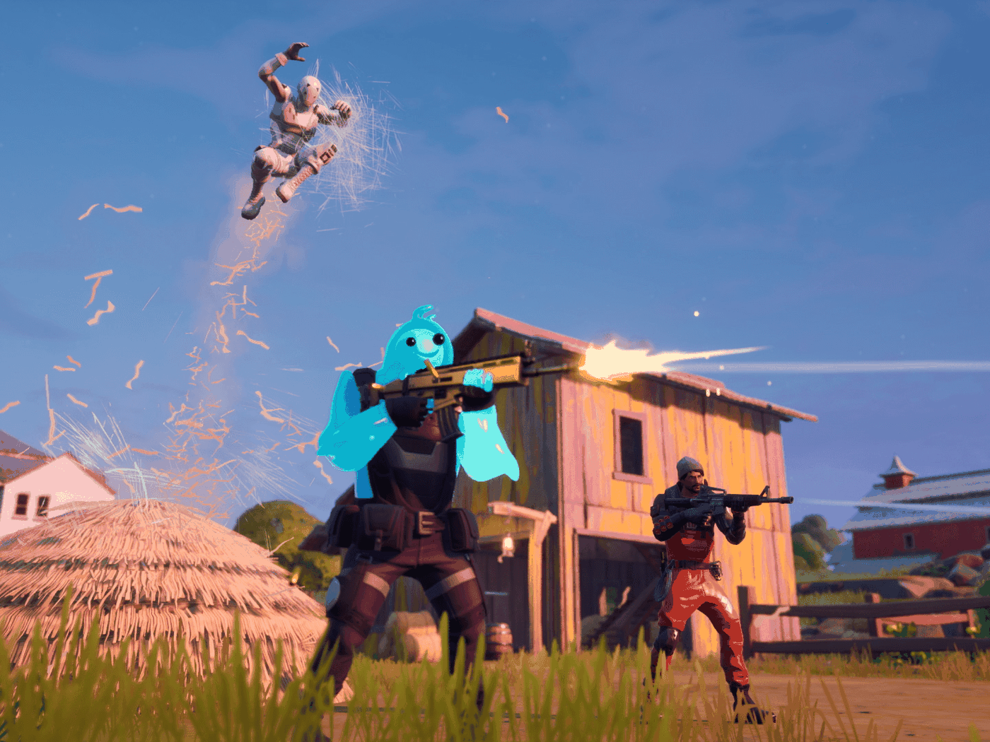 Fortnite S Black Hole Has Closed And Chapter 2 Is Finally Here The Verge
