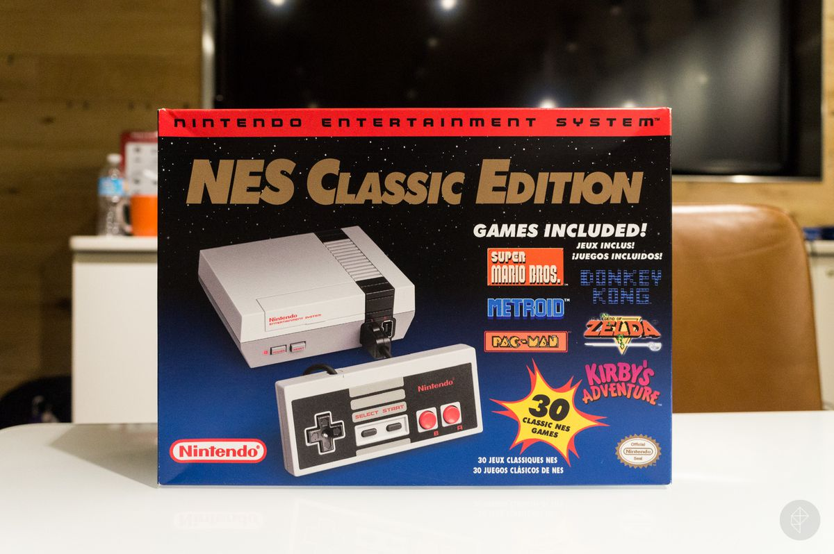 NES Classic box