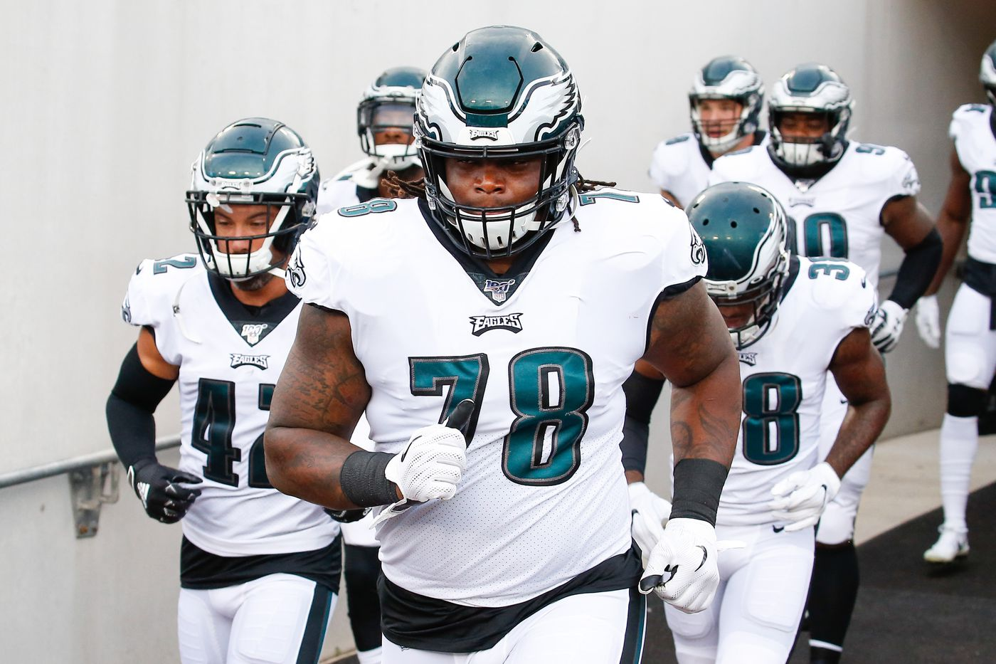 new concept aff1c ebd7e Eagles Rookie Report Card: One undrafted player turned heads ...