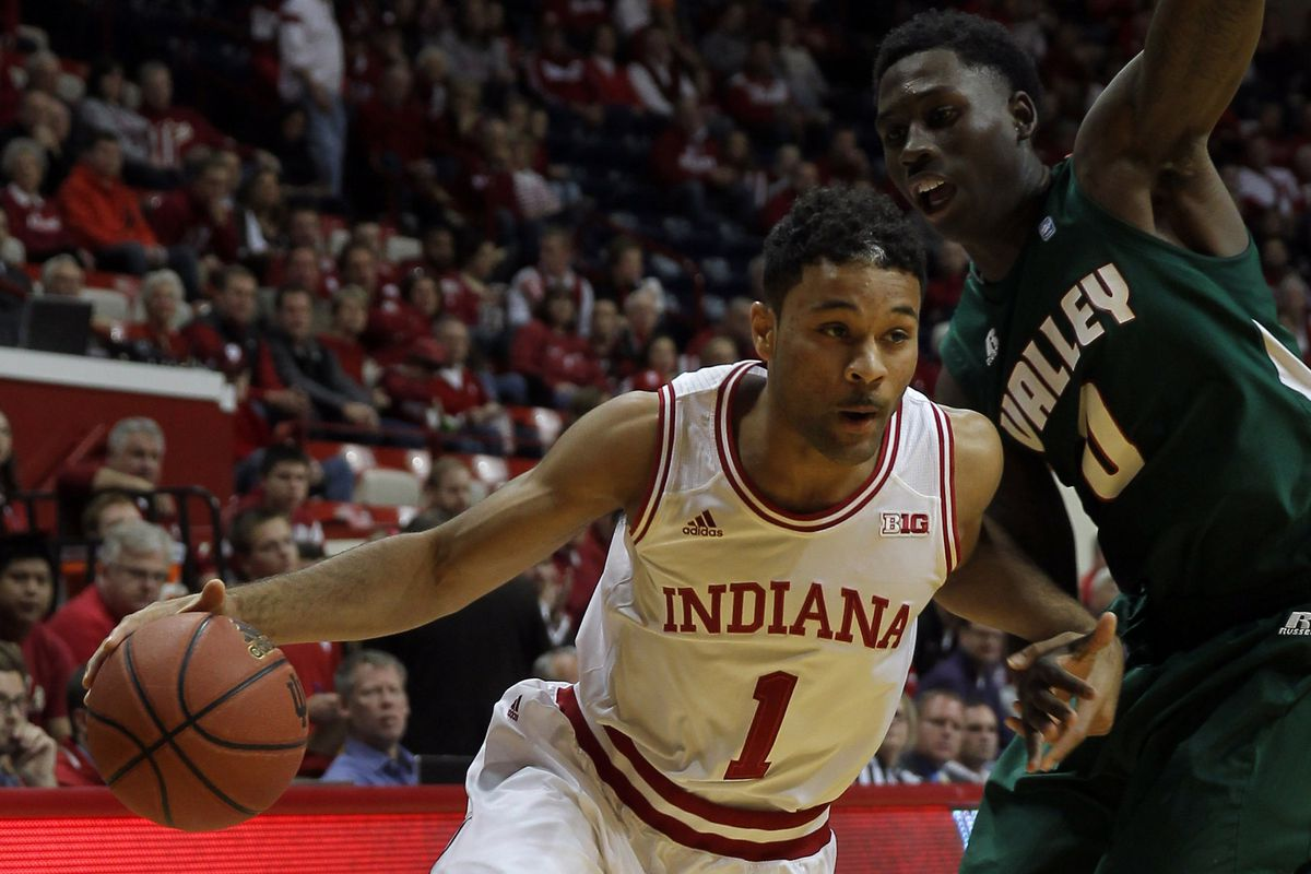 James Blackmon Jr. looks right at home in Indiana's starting lineup