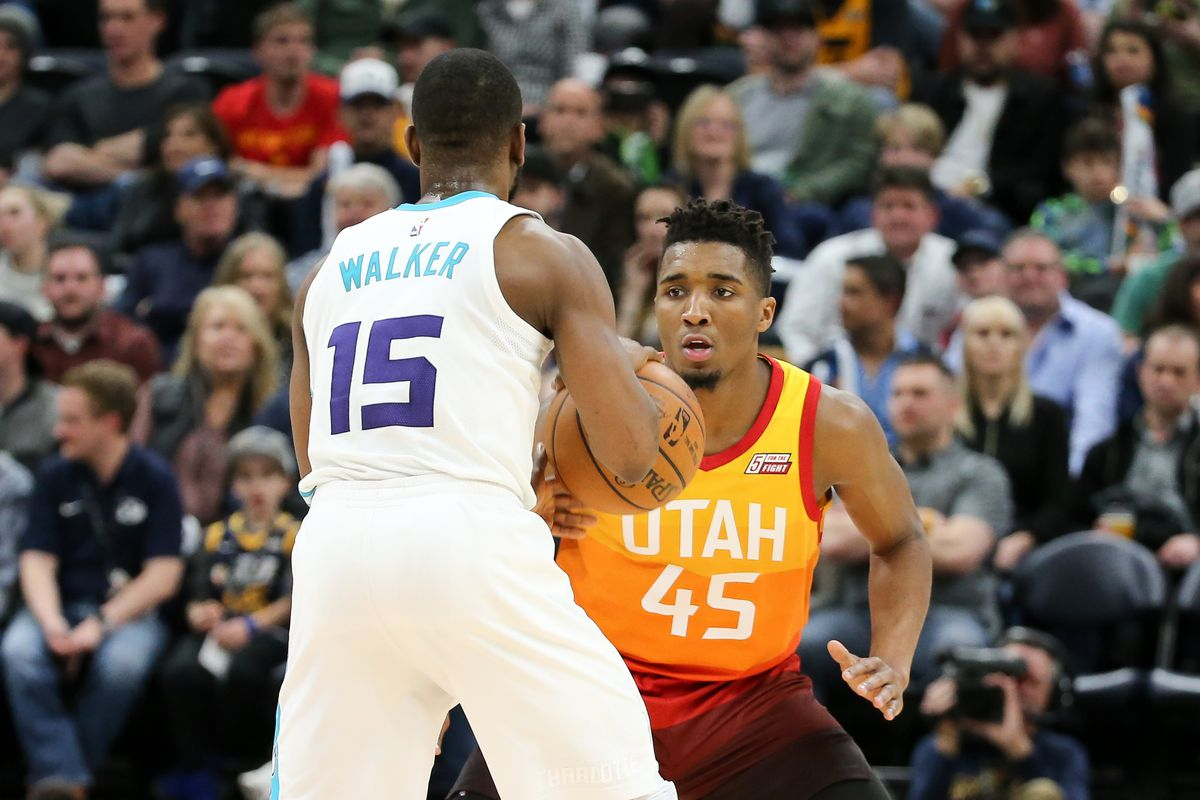 NBA: Charlotte Hornets at Utah Jazz