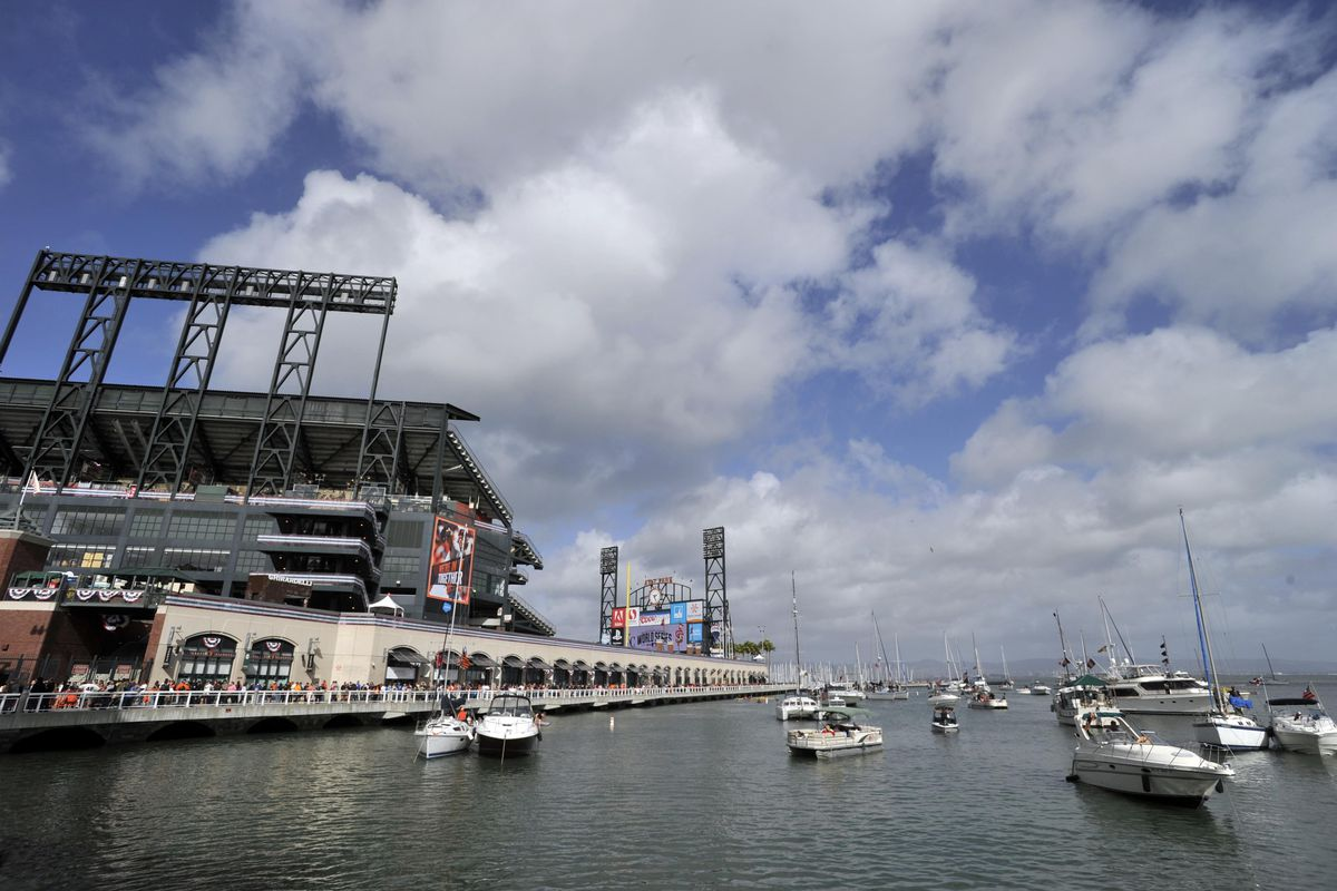 With a loss tonight, the Giants' championship hopes float away into McCovey Cove