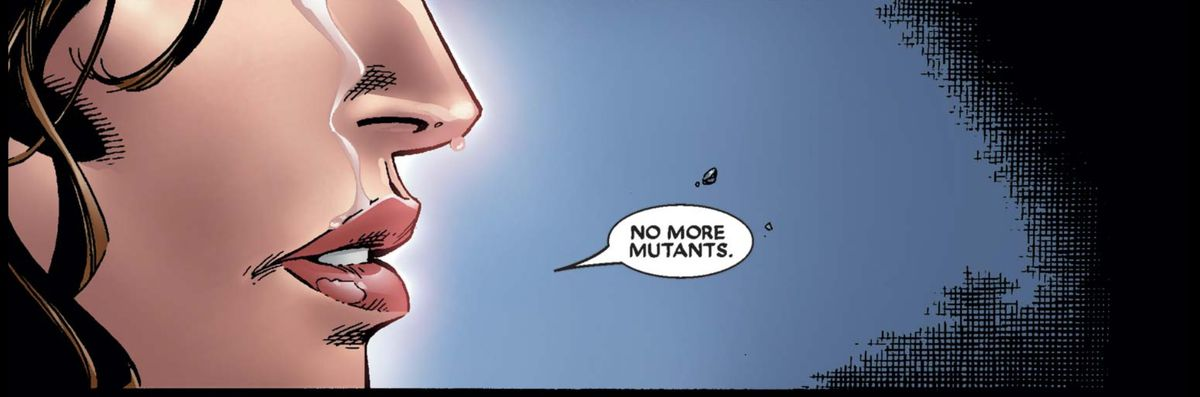 From House of M, Marvel Comics (2005).