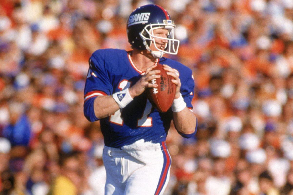 Phil Simms in Super Bowl XXI