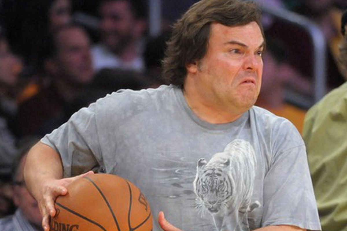 Jack Black would start for TCU Basketball right now.