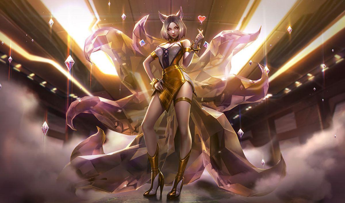 Kda Ahri Sparkles In Her Prestige Edition Skin - The Rift -1368
