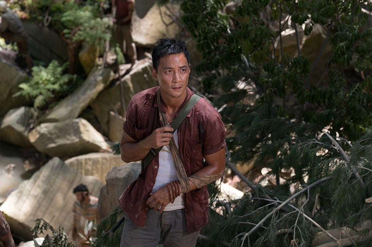 Daniel Wu in Tomb Raider
