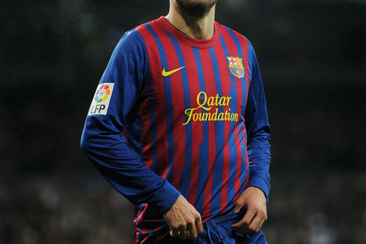 Pique has once again denied any bad blood between him and Pep Guardiola.
