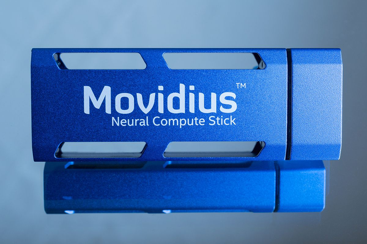 Movidius launches a $79 deep-learning USB stick