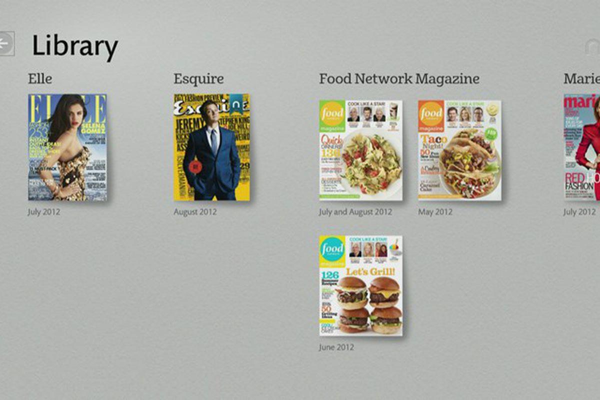 Design poster win8 - Nook Windows 8