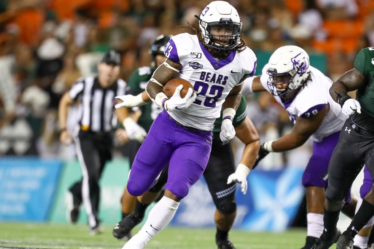 Central Arkansas Bears Football Who Is The FCS Team Playing In College Season s First Two Scheduled Games DraftKings Nation