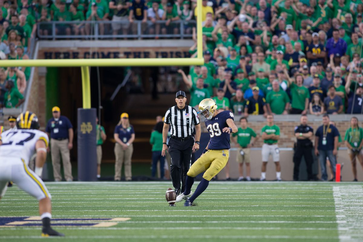 COLLEGE FOOTBALL: SEP 01 Michigan at Notre Dame