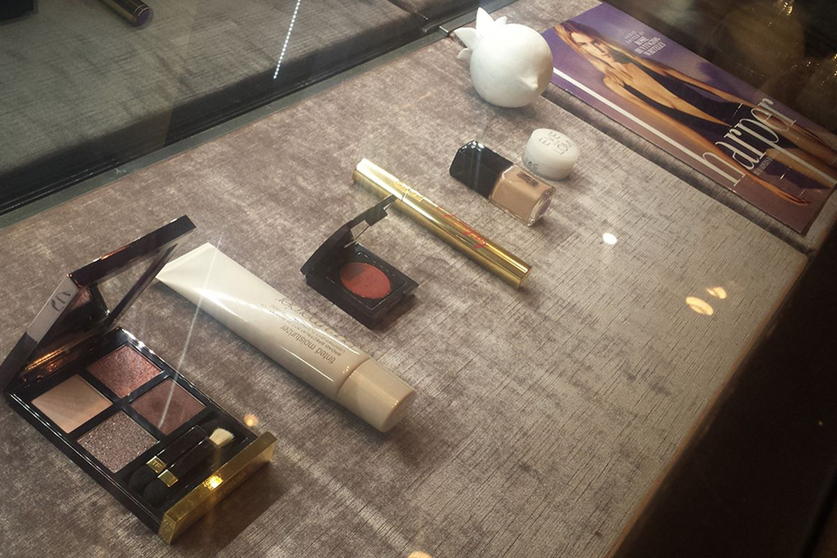 A few of Rosie Huntington-Whiteley's favorite beauty products.