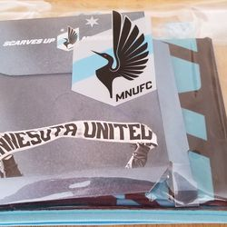 Everything was wrapped nicely in this clear MNUFC bag.