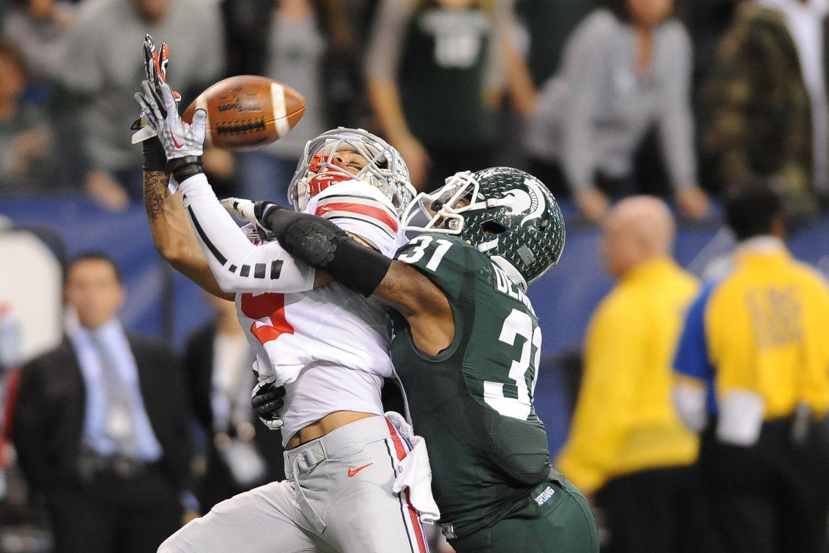 Ohio State Buckeyes v Michigan State Spartans 12-7-2013