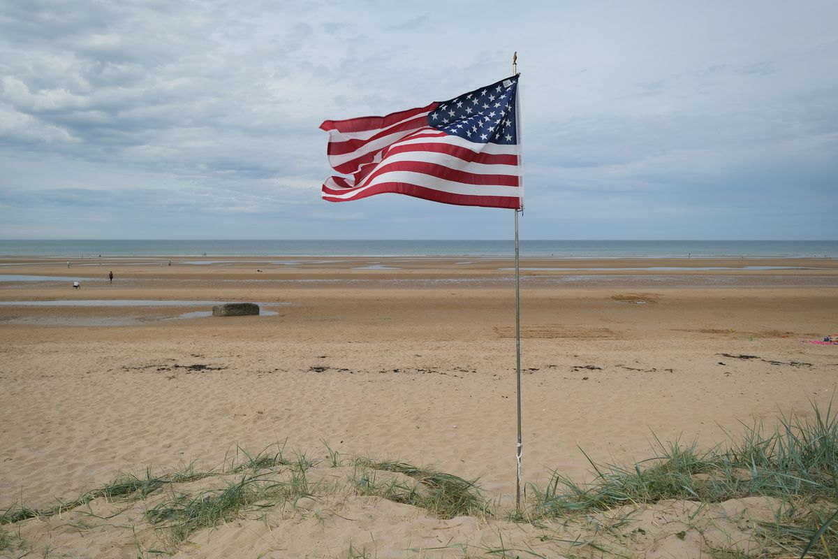 Veterans And Families Commemorate D-Day 75th Anniversary In Normandy