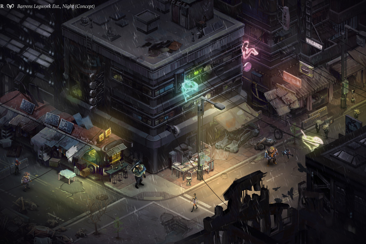 Shadowrun Returns' first images show off isometric view - Polygon
