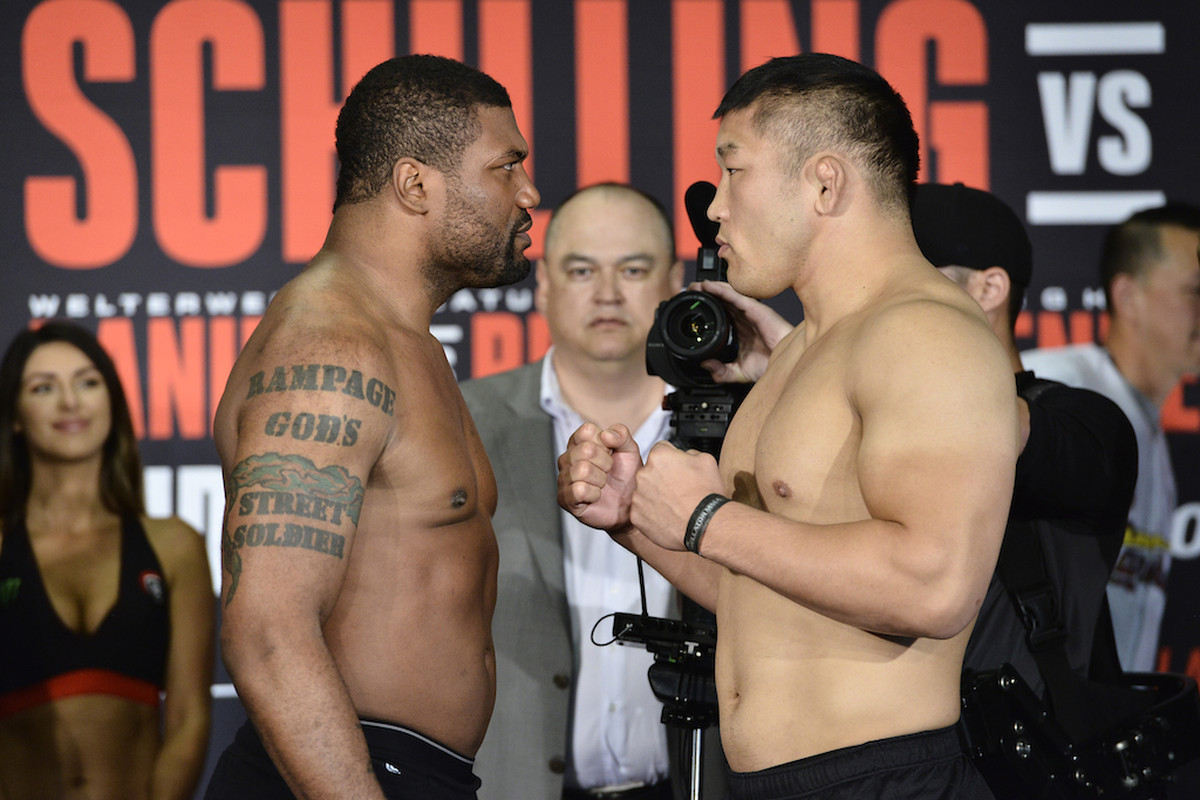 Rampage Jackson and Satoshi Ishii will square off in the Bellator 157 main event Friday.