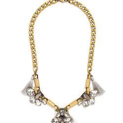 "Sing bib necklace, <a href=""http://www.baublebar.com/sing-bib-necklace.html"">$68</a>"