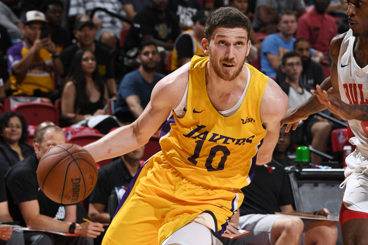 3cc38e739bad Svi Mykhailiuk showed the Lakers he s more than just a shooter