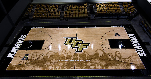 Feast Your Eyes On Ucf S Rollercoaster Court Sbnation Com