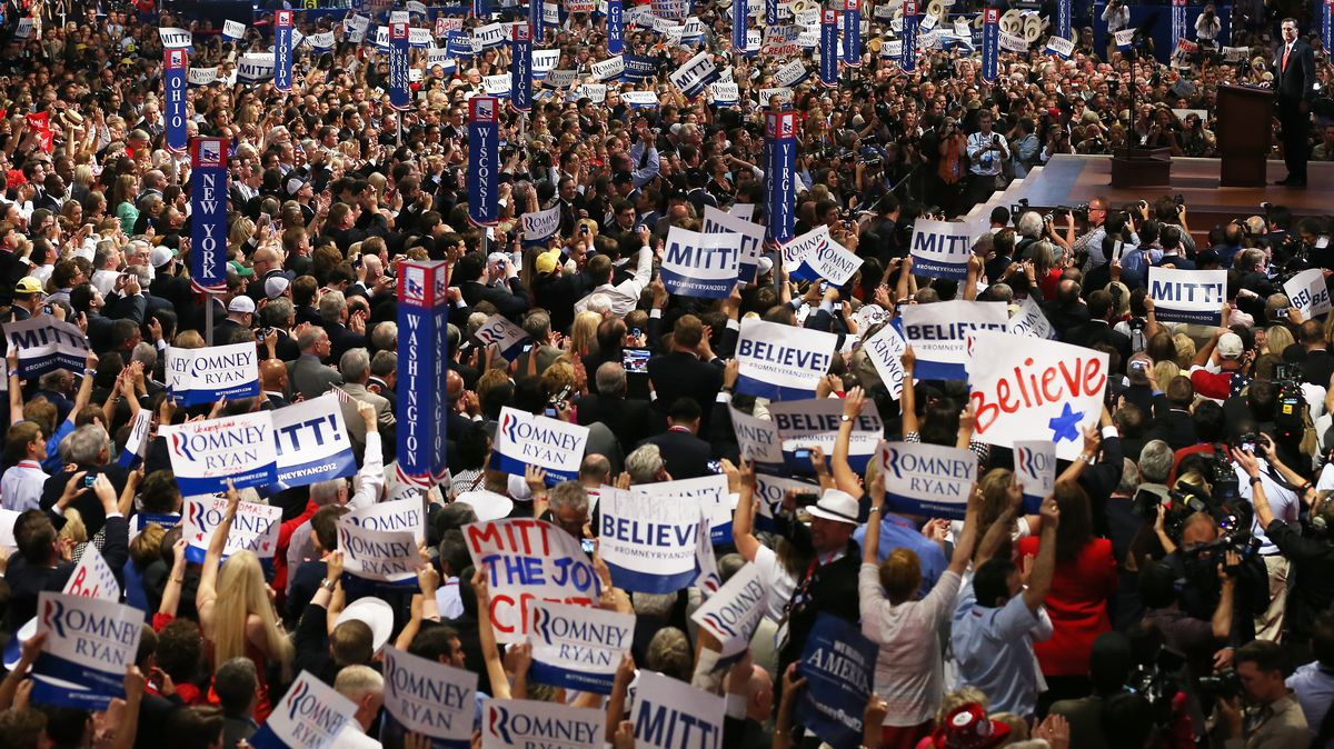 The Republican National Convention in 2012
