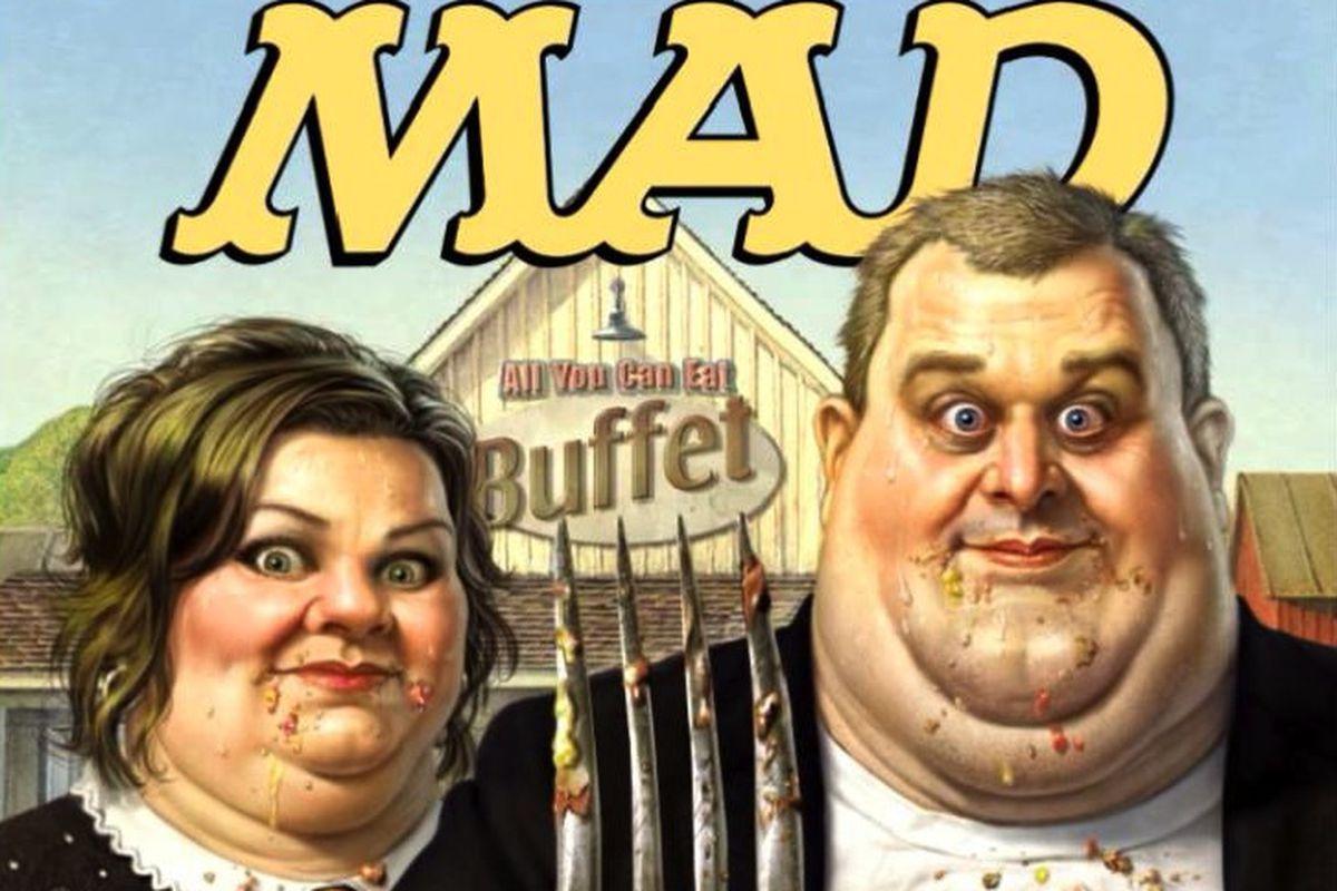 MAD magazine iPad
