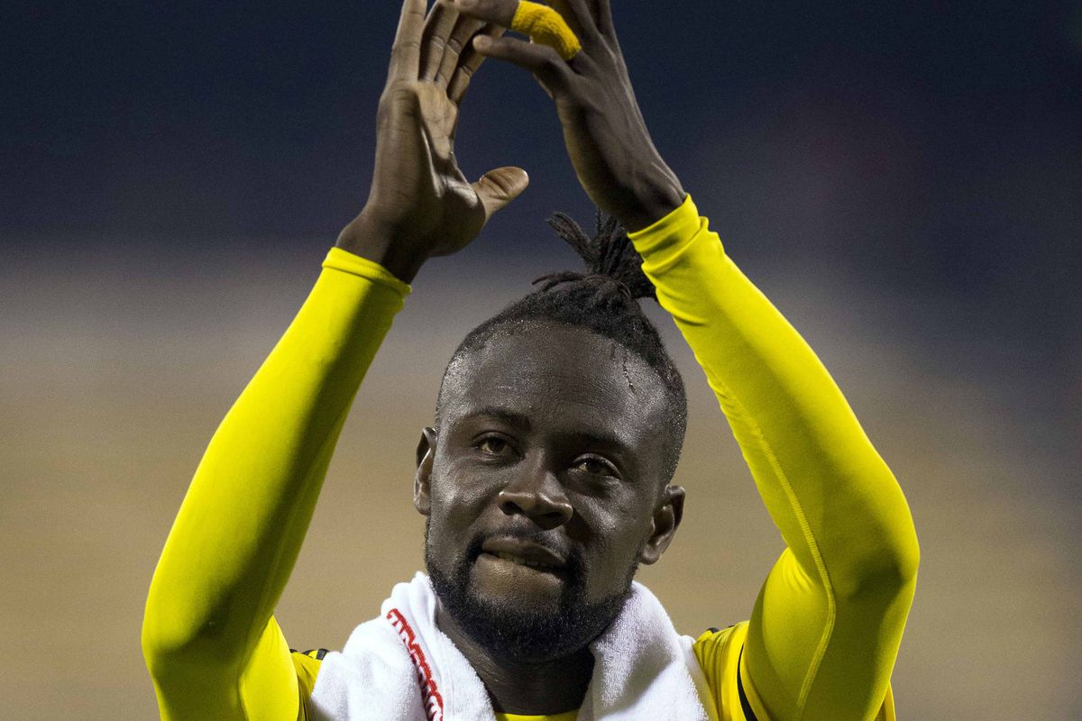 On Thursday morning Kei Kamara was traded from Columbus to New England.
