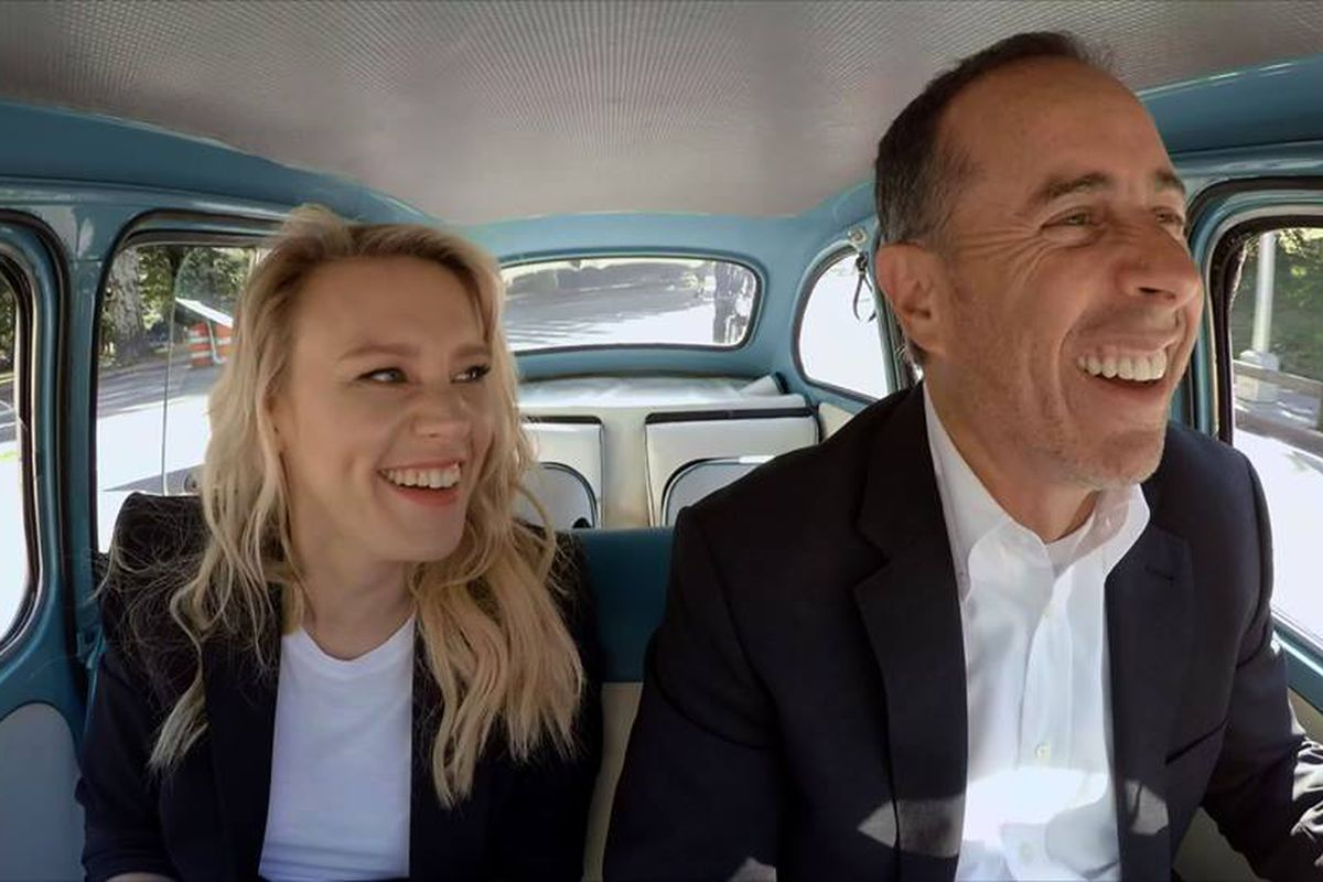 Jerry Seinfelds Comedians In Cars Getting Coffee Returns To - Ellen degeneres show car giveaway