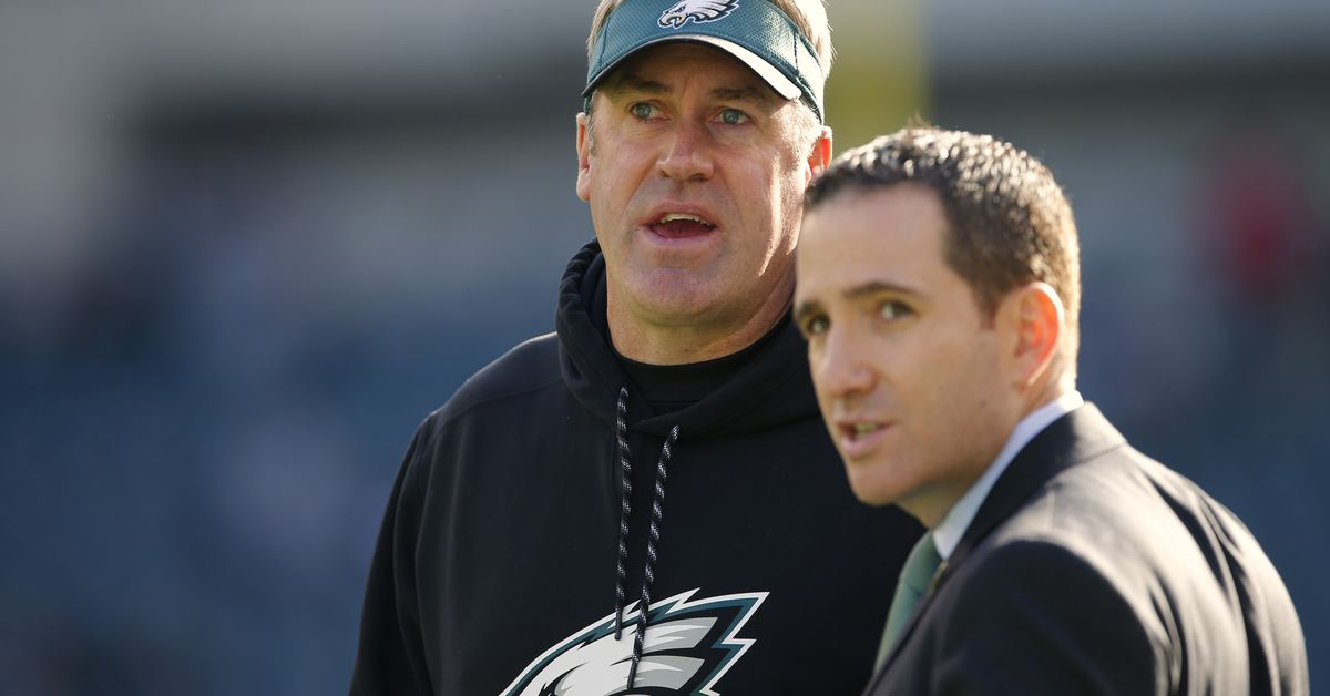Doug Pederson and Howie Roseman are scheduled to speak at the 2019 NFL Combine