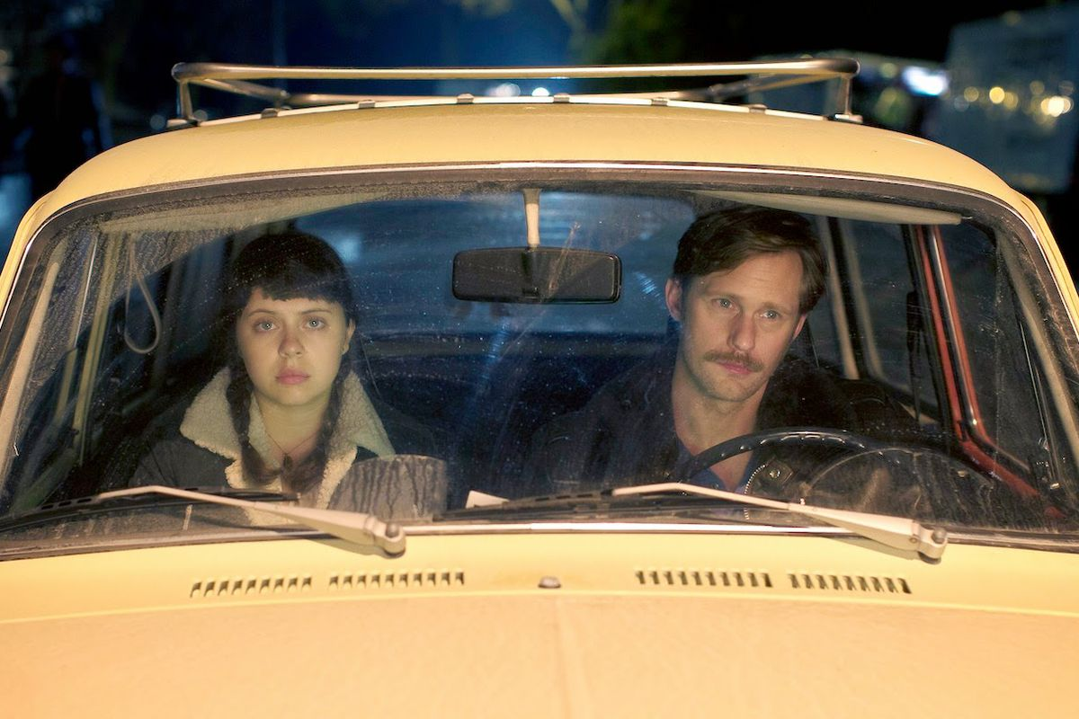 Bel Powley and Alexander Skarsgård play the central characters of The Diary of a Teenage Girl. They're trapped in a doomed, terrible, predatory relationship.