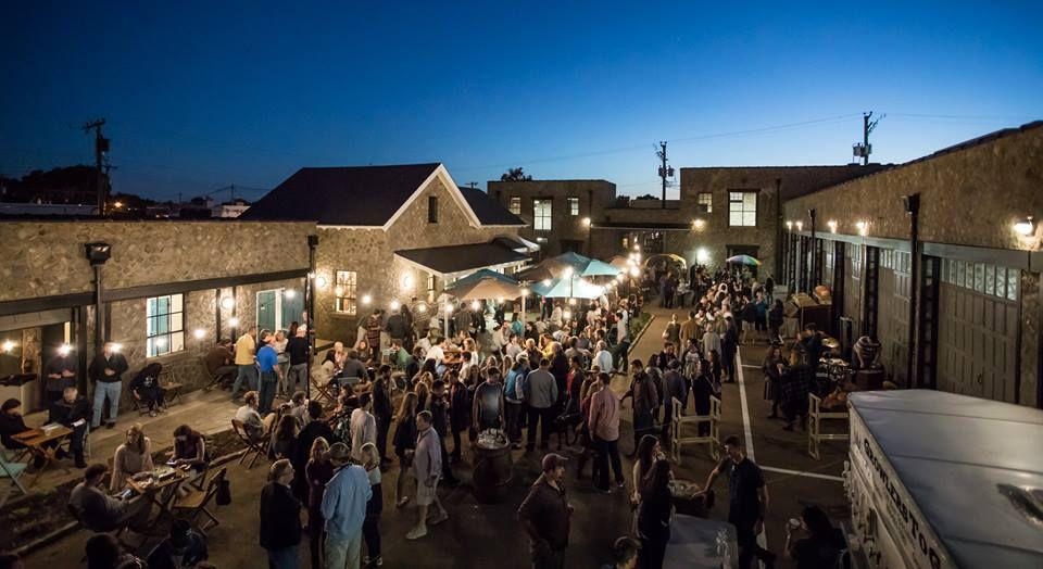 Blue Bee Cider VA crowd