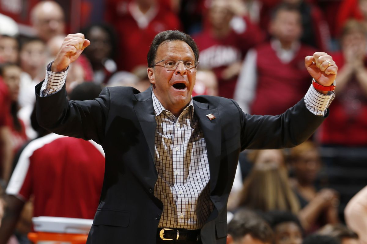 NCAA Basketball: North Carolina at Indiana