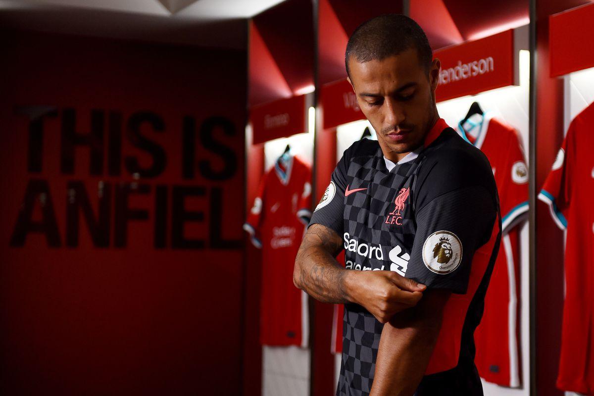 Liverpool Unveil New Signing Thiago Alcantara