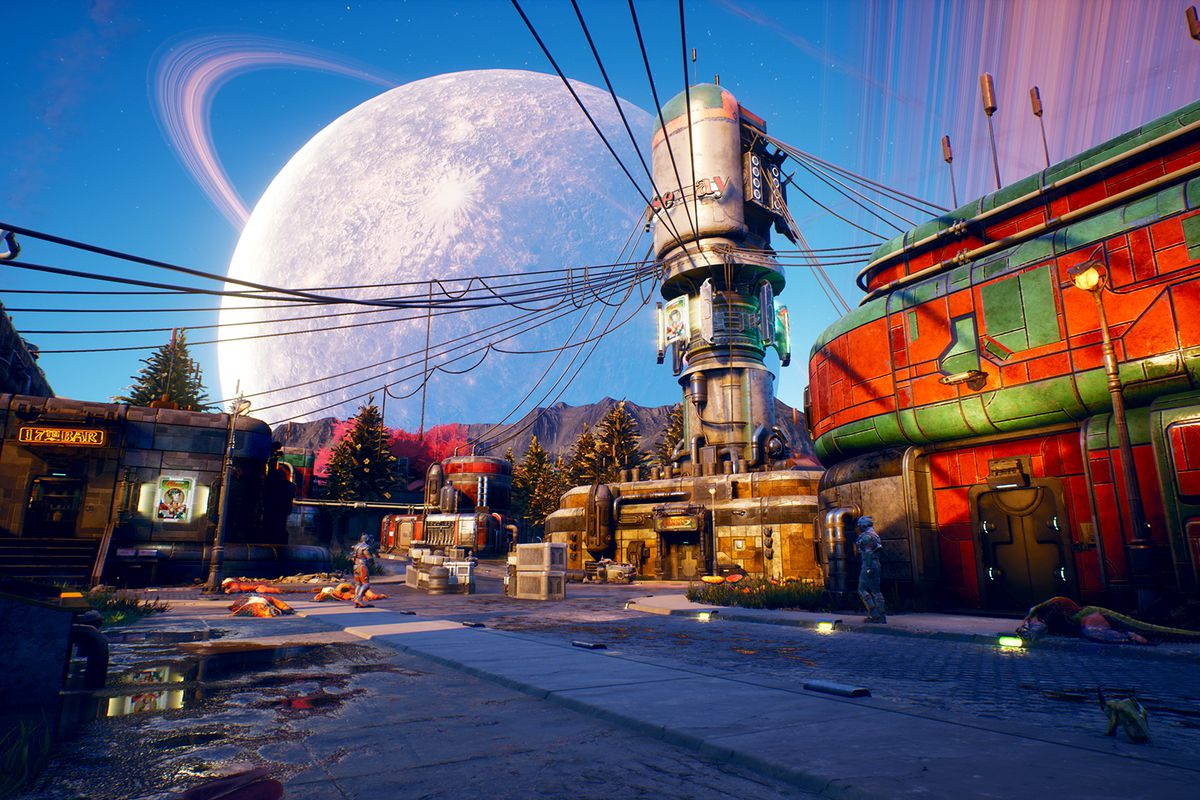 The Outer Worlds city