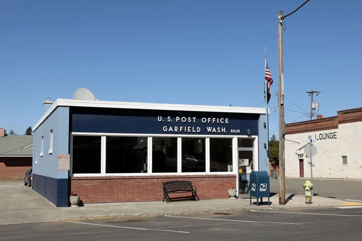 A US post office in Garfield, Washington.