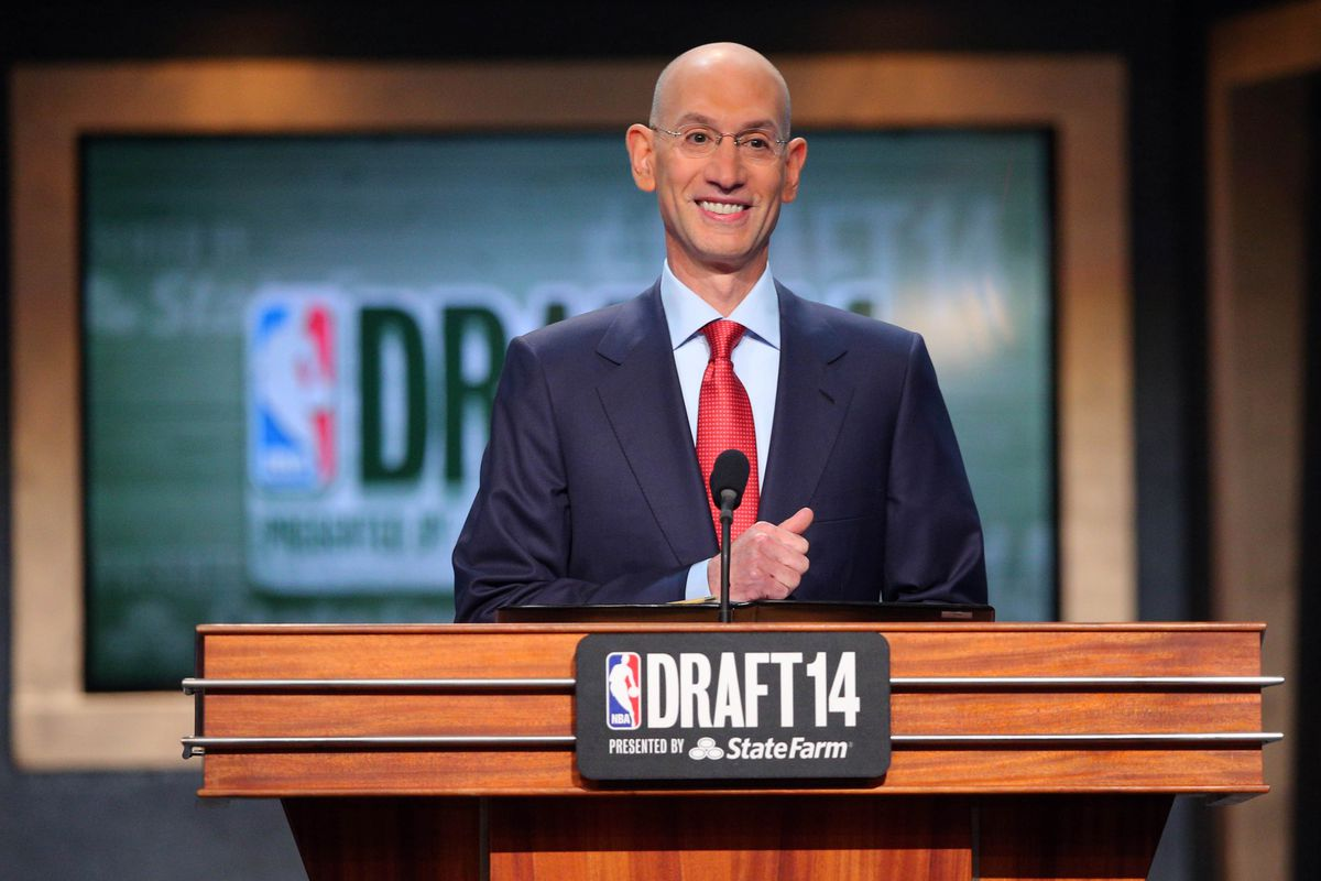 NBA commissioner Adam Silver loves our ideas.