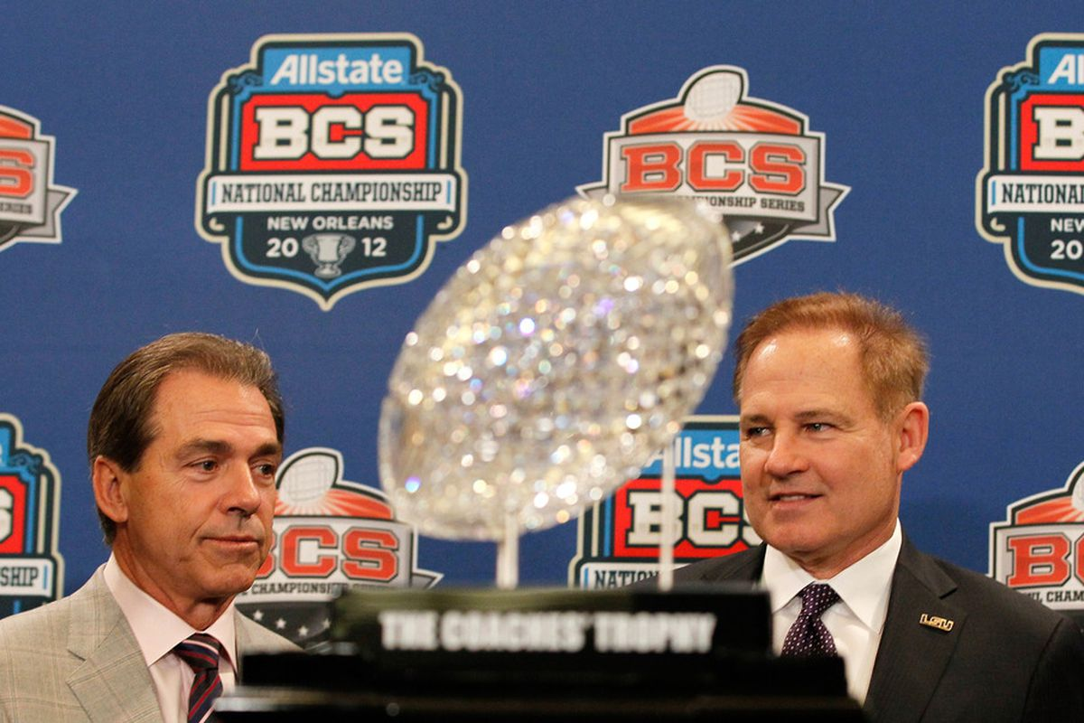 For the 1st time since the BCSNCG, Saban and Miles will duel for SEC and National supremacy