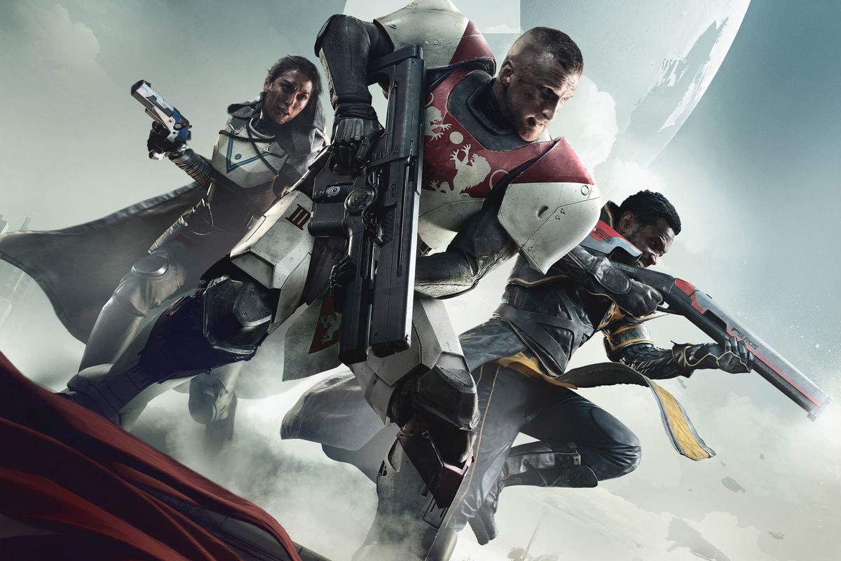 Destiny 2 - three Guardians key art