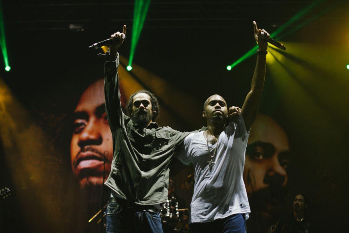 Nas and Damian Marley