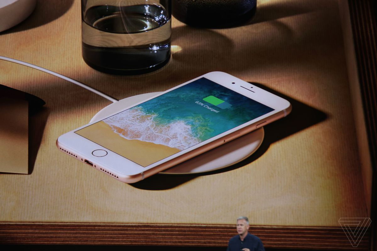 iPhone 8 and 8 Plus announced with wireless charging, True Tone