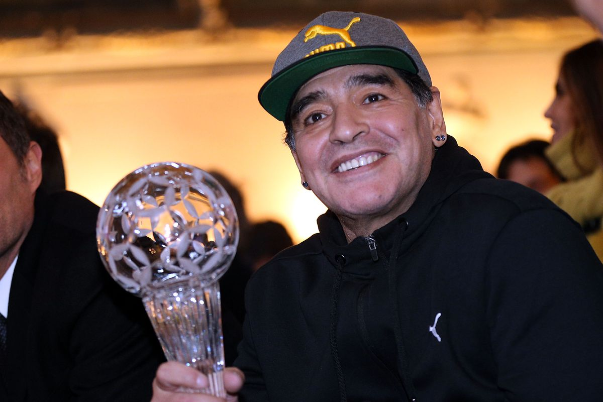 Diego Maradona - Italian Football Federation Hall of Fame